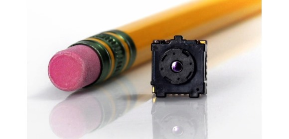Figure 2: FLIR's Lepton thermal imaging LWIR camera offers a compact solution