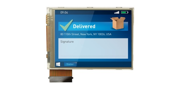 "Figure 1 - Specifying standard displays can be risky. Customers using standard 2.8"" QVGA displays like this were caught out when market demand dropped – but a semicustom solution from andersDX offered an economic way out."