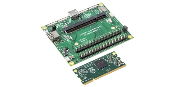 RS Components Ltd - Raspberry Pi 3 Compute Module is out now