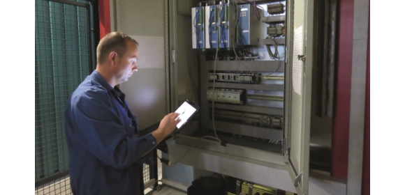 Mobile tablet solution offers direct access to all machine data on every piece of machinery.