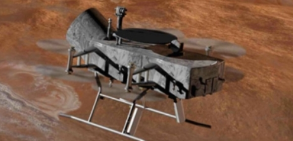 Dragonfly could explore Titan | Credit: Mike Carroll/John Hopkins Applied Physics Laboratory