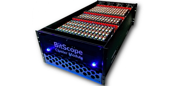 The BitScope Pi Cluster module