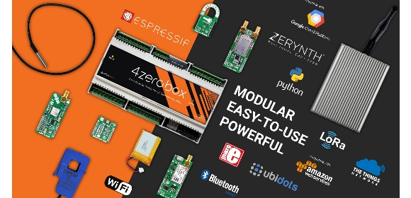 zerobox: a modular electronic board that is specifically designed for IoT and Industry 4.0 solution providers