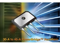 30A to 45A PowerBridge rectifier series with 600V to 1000V VRRM and 1500V dielectric strength released