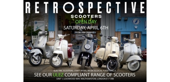 Electric conversion kit aims to save iconic scooters forced off