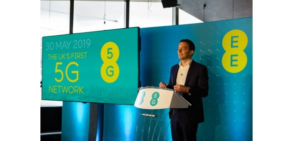 Marc Allera at EE 5G launch event 2019_580x280