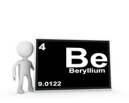 Beryllium is a naturally occurring element that is present in the earth's crust