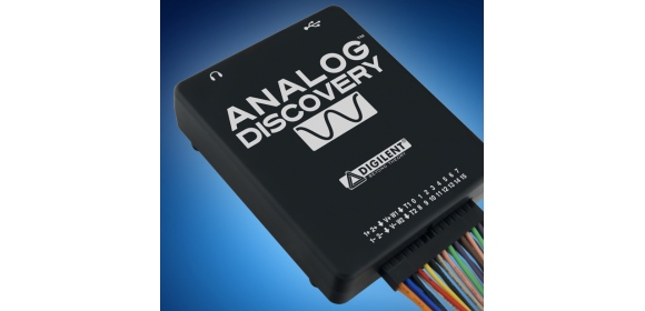 Test anywhere with Digilent s Analogue Discovery oscilloscope (10 03 2015).  Mouser Electronics is now stocking ... 8d91b21123968