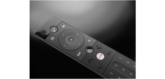 From Universal Electronics: the Fuji remote for Android TV