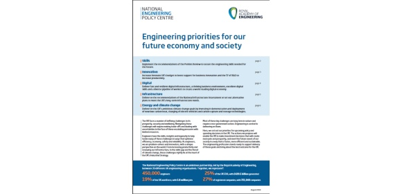 National Engineering Policy Centre manifesto_cover