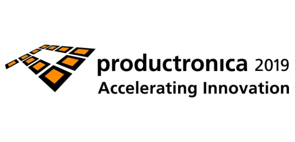 productronica 2019 logo accelerating innovation