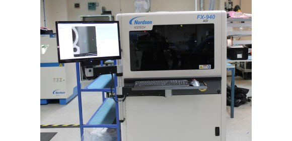Nordson YESTECH FX-940 Ultra 3D automated optical inspection (AOI) machine