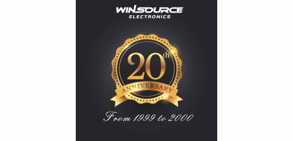 Win Source Electronics 20th anniversary logo