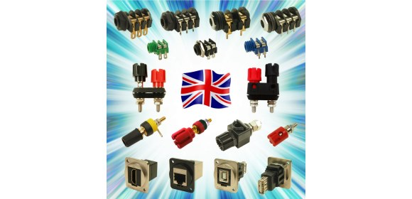UK designed & manufactured connectors from Cliff Electronics