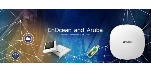 EnOcean Alliance_Aruba_Hyperaware smart buildings save energy & increase productivity_580x280