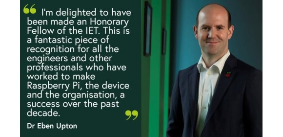 IET 2020 Honorary Fellows_Dr Eben Upton