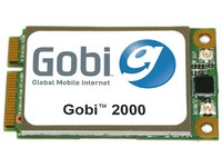 Gobi embedded 3G module enables notebooks with location-based services.
